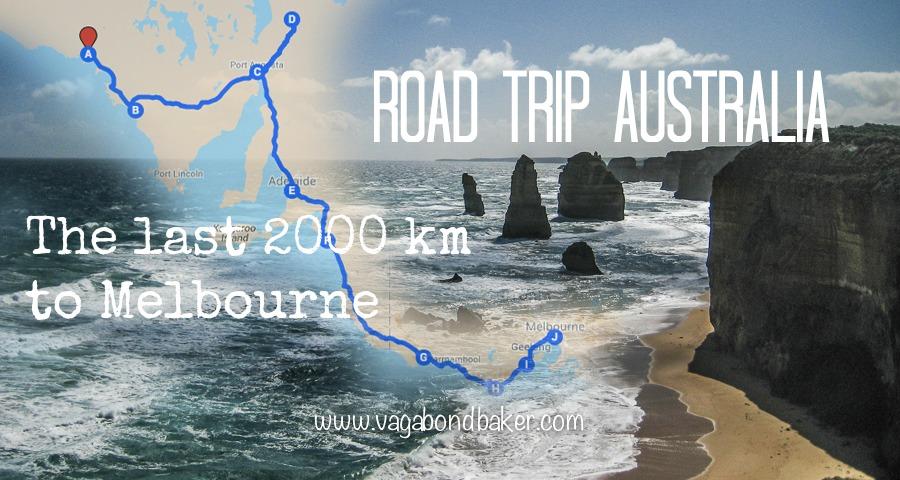 Ceduna to Melbourne Road Trip Australia