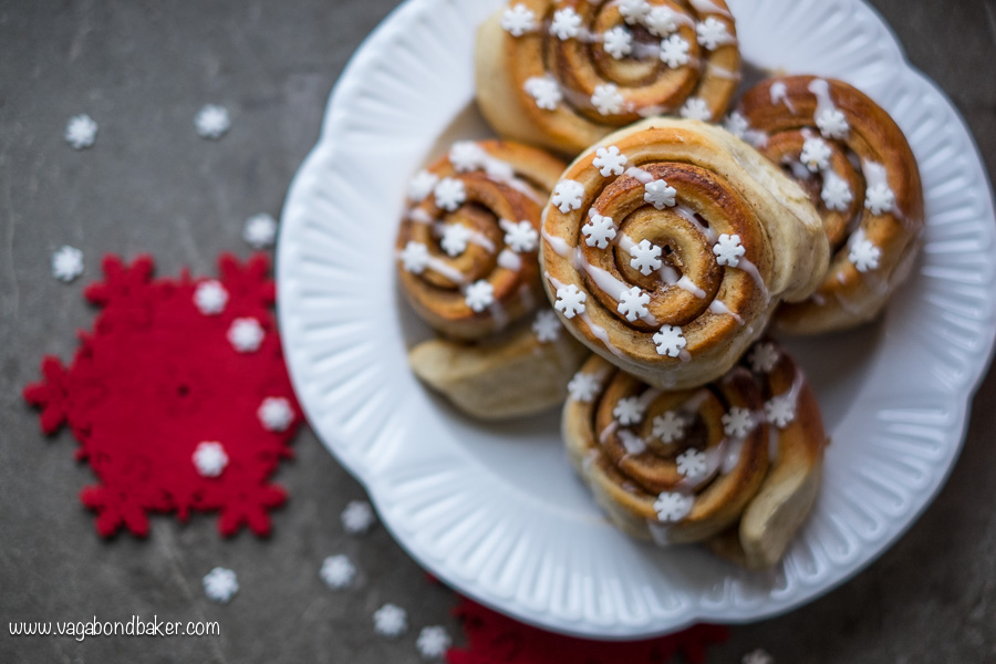 Festive Cinnamon Rolls