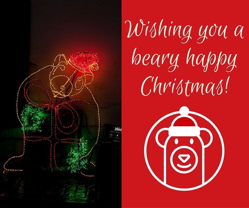 Wishing you a beary happy Christmas!