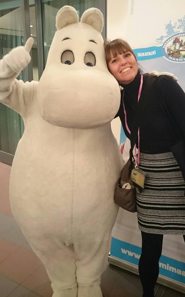 Hug a Moomin!