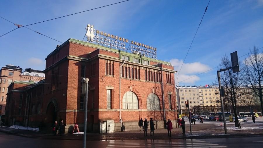 Hakaniemen Kauppahalli, Helsinki