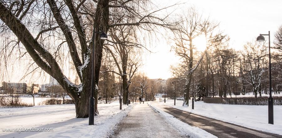 Helsinki bay Walk, Töölönlahti