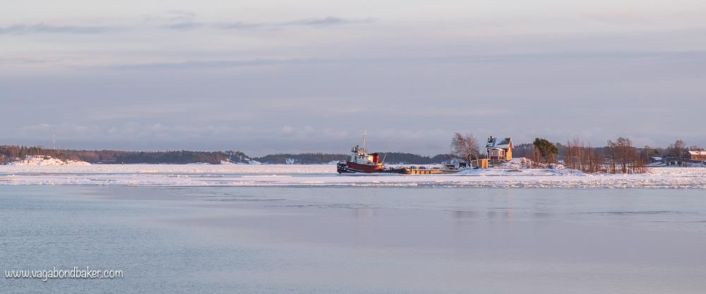 Finland, winter,