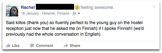 learning Finnish FB