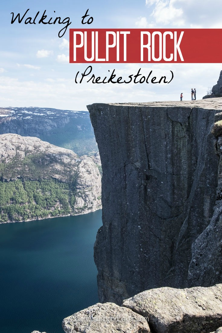 Walking to Pulpit Rock, Preikestolen. Norway. This view will take your breath away!