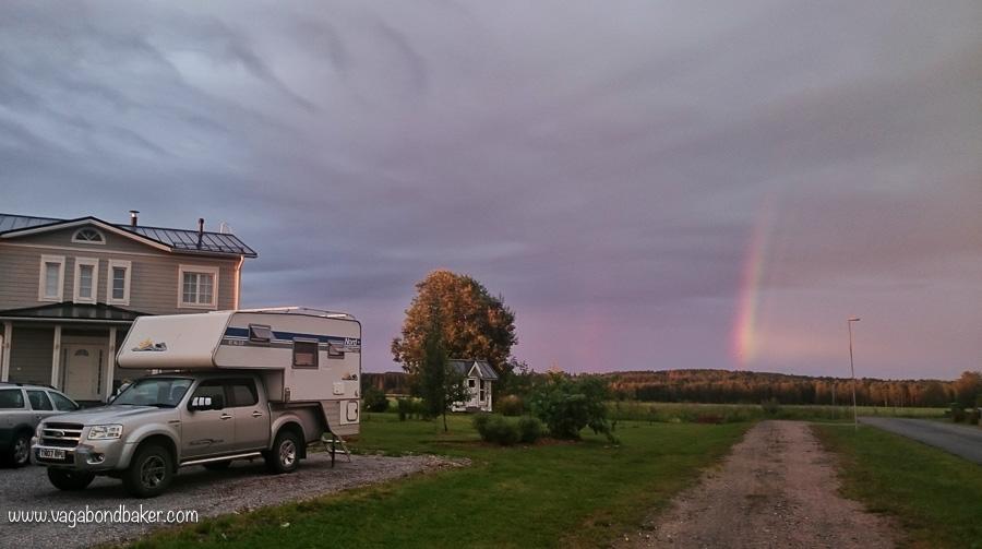 50 Finland Summer Rainbow