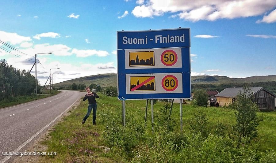 Finland Summer Border
