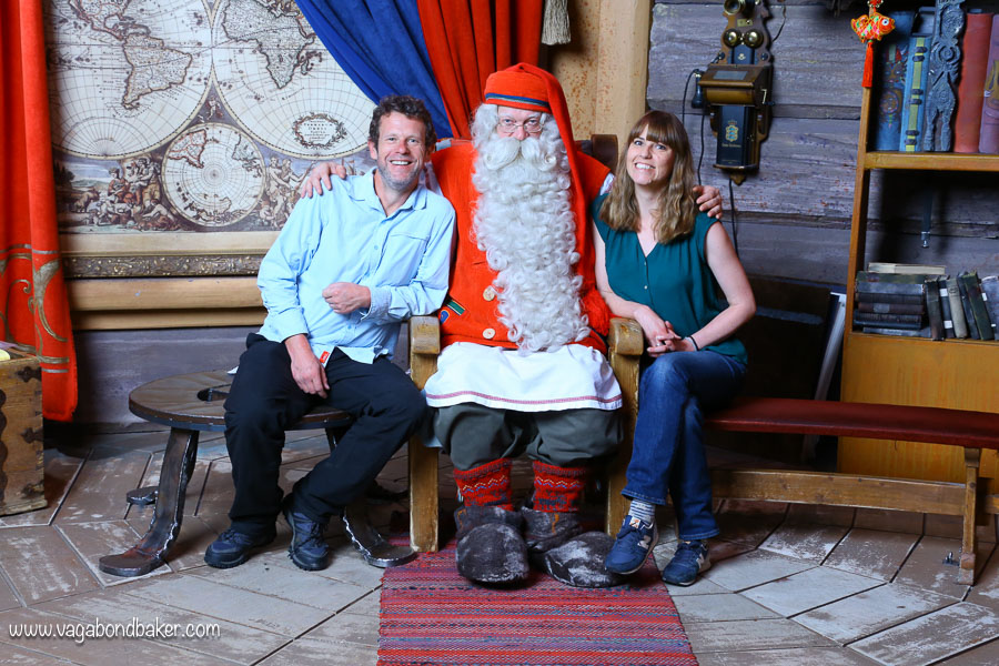 Finland Summer Santa Claus
