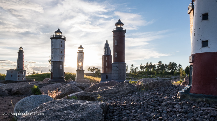 Finland Summer Kotka Lighthouses