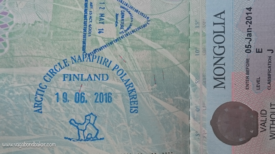 Finland Passport Stamp
