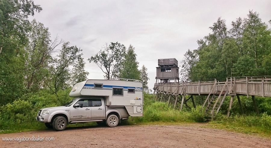 Finland Summer lintu torni