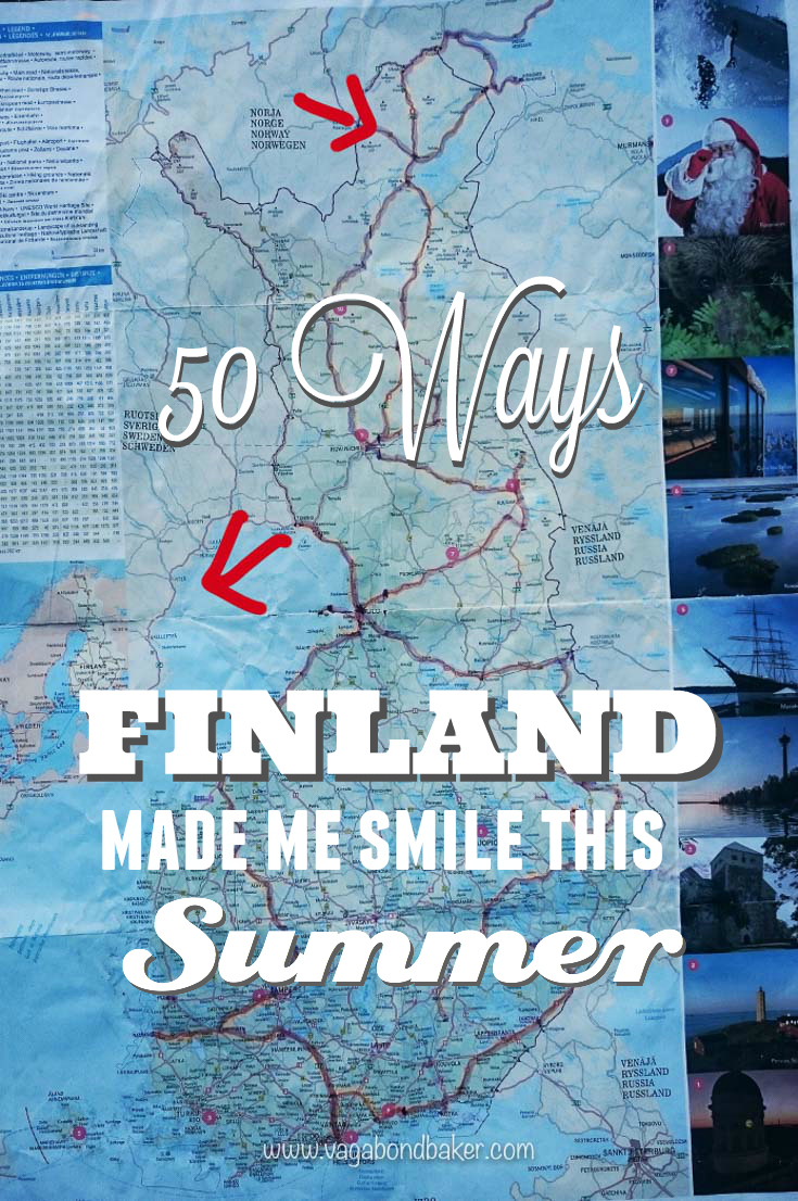 Two amazing months touring around beautiful Finland over the summer.