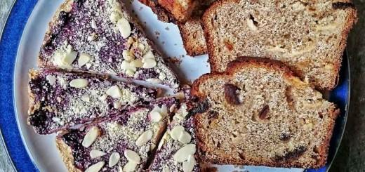 Blackcurrant Shortbread-