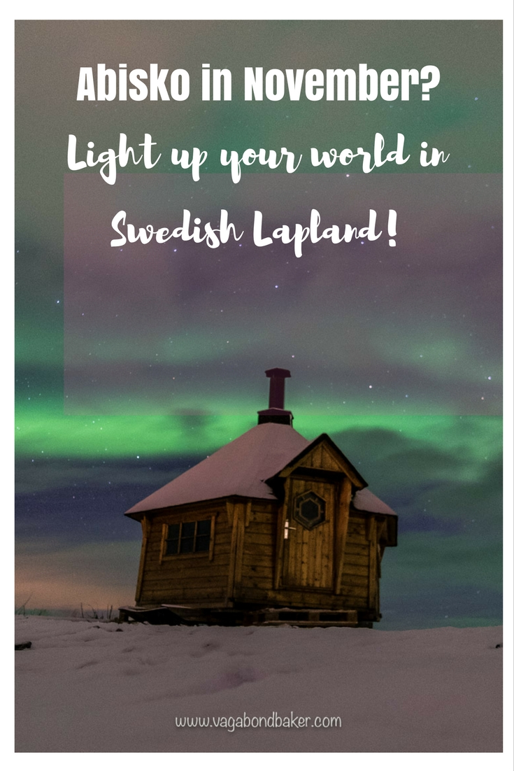 Abisko in November? See the Northern Lights in Swedish Lapland